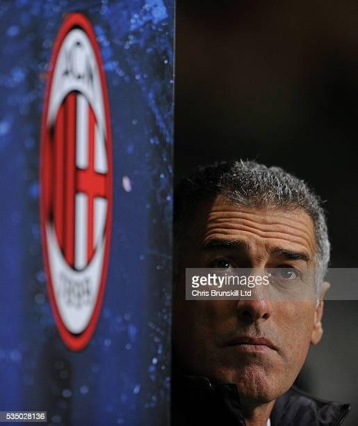 AC Milan coach Mauro Tassotti