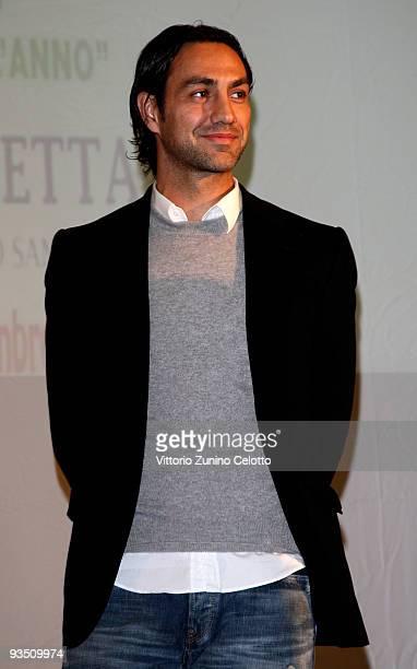Milan defender Alessandro Nesta attends 'La Torretta' Sport Awards on November 30 2009 in Sesto San Giovanni Italy