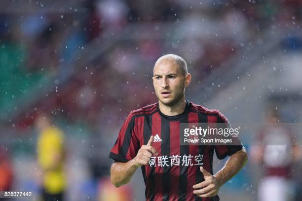 Milan Defender Gabriel Paletta in action during the International Champions Cup 2017 match between AC Milan vs Borussia Dortmund at University Town...