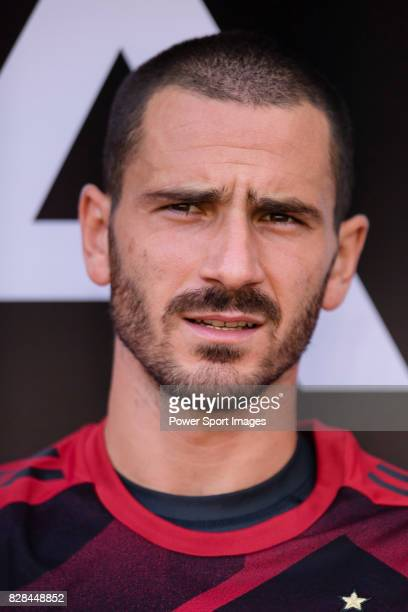 Milan Defender Leonardo Bonucci during the 2017 International Champions Cup China match between FC Bayern and AC Milan at Universiade Sports Centre...