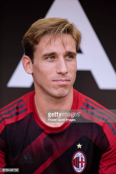 Milan Defender Lucas Biglia during the 2017 International Champions Cup China match between FC Bayern and AC Milan at Universiade Sports Centre...