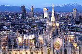 Milan Cathedral, amazing Church in Gothic style.