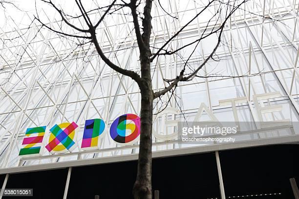 Expo Milan 2015 Informationen Gebäude