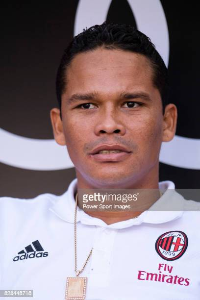 Milan Forward Carlos Bacca during the 2017 International Champions Cup China match between FC Bayern and AC Milan at Universiade Sports Centre...