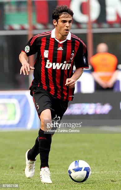 Milan forward Kaka in action during AC Milan v AS Roma on May 24 2009 in Milan Italy
