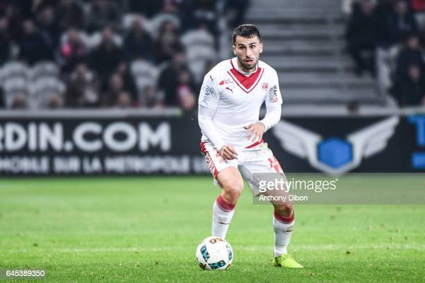 Milan Gajic of Bordeaux during the French Ligue 1 match between Lille and Bordeaux at Stade PierreMauroy on February 25 2017 in Lille France