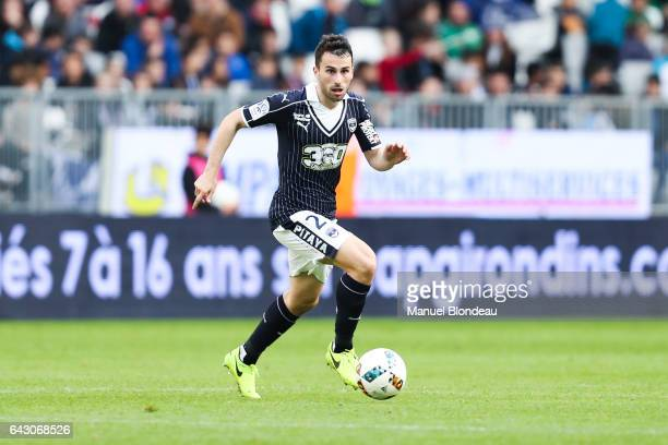 Milan Gajic of Guingamp during the French Ligue 1 match between Bordeaux and Guingamp at Stade Matmut Atlantique on February 18 2017 in Bordeaux...