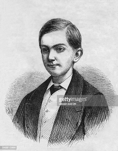 Milan I of Serbia King of Serbia *22081854 King of Serbia 18821889 graphical representation undated Vintage property of ullstein bild