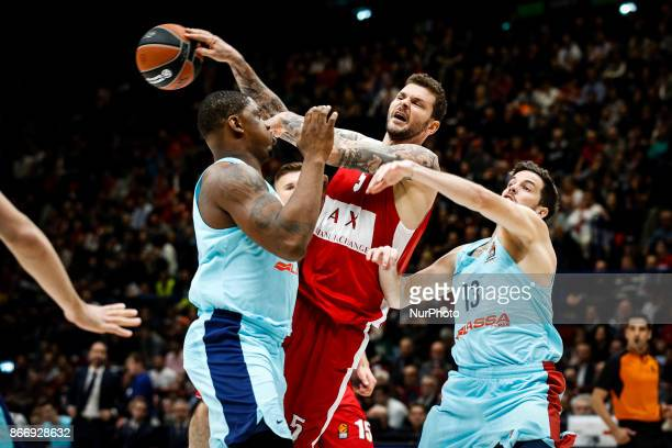 Milan Italy 26th october 2017 Vladimir Micov during a game of Turkish Airlines Euroleague basketball between AX Armani Exchange Milan vs FC Barcelona...