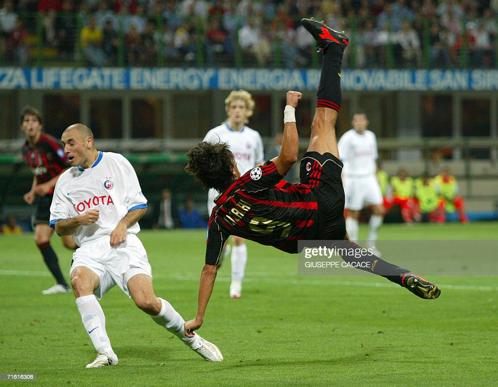 AC Milan s midfielder Filippo Inzaghi ju