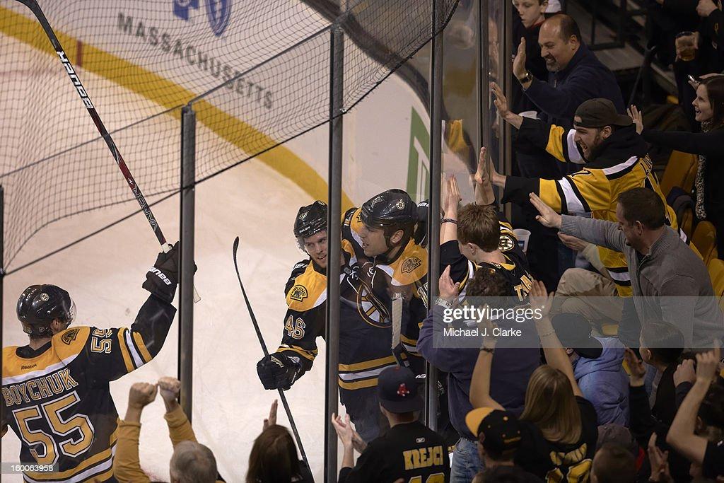 Milan Lucic (17) GOAL New York Rangers vs. Boston Bruins game action TD Garden/Boston , MA Michael J. Clarke F302 )