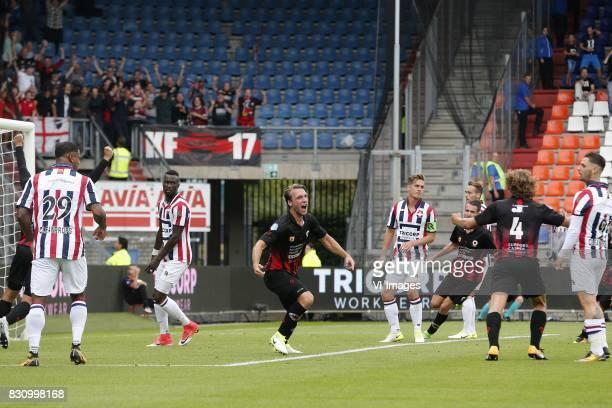Milan Massop of Excelsior during the Dutch Eredivisie match between Willem II Tilburg and sbv Excelsior at Koning Willem II stadium on August 13 2017...