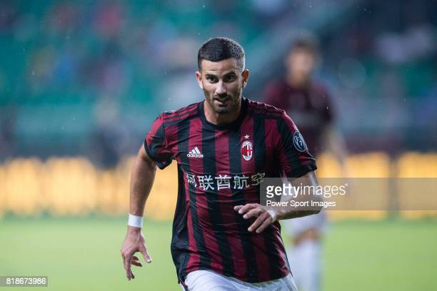 Milan Midfielder Mateo Musacchio in action during the International Champions Cup 2017 match between AC Milan vs Borussia Dortmund at University Town...