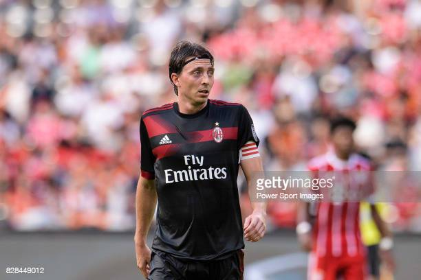 Milan Midfielder Riccardo Montolivo in action during the 2017 International Champions Cup China match between FC Bayern and AC Milan at Universiade...