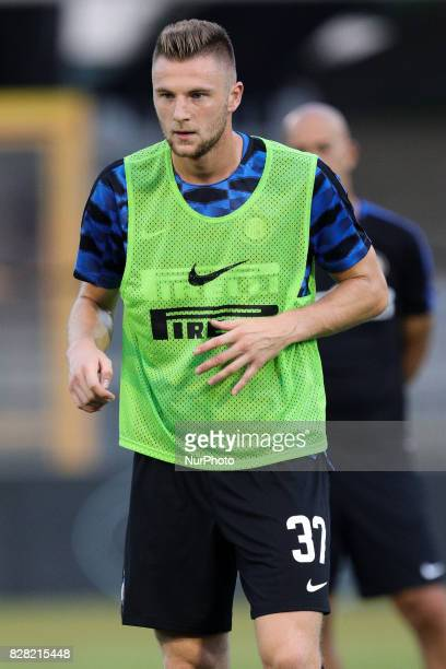 Milan Skriniar of FC Internazionale during training session before the PreSeason 2017/2018 International Friendly FC Internazionale v Villareal CF at...