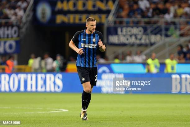Milan Skriniar of FC Internazionale in action during the Serie A match between FC Internazionale and ACF Fiorentina Internazionale Fc wins 30 over...