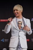 Milan Stankovic of Serbia performs during a press conference after the open rehearsal at the Telenor Arena on May 16 2010 in Oslo Norway 39 countries...