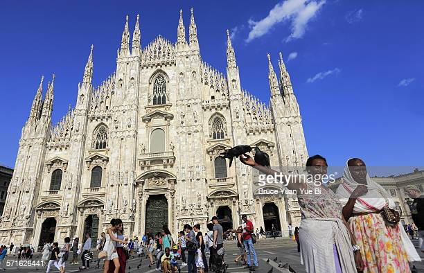 MilanCathedral with visitors