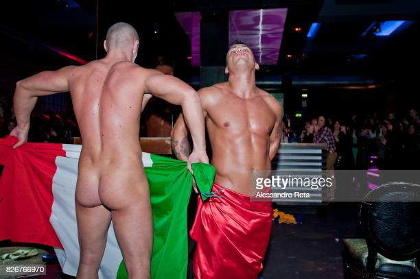 Image contains nudity Milano 8th March 2013 Alessandro lost his job a year before due to the economic crisis Since then he became a stripper...