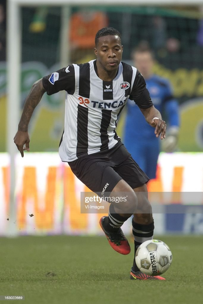 Milano Koenders of Heracles Almelo during the Dutch Eredivisie match between ADO Den Haag and Heracles Almelo at the Kyocera Stadium on march 03, 2013 in The Hague, The Netherlands