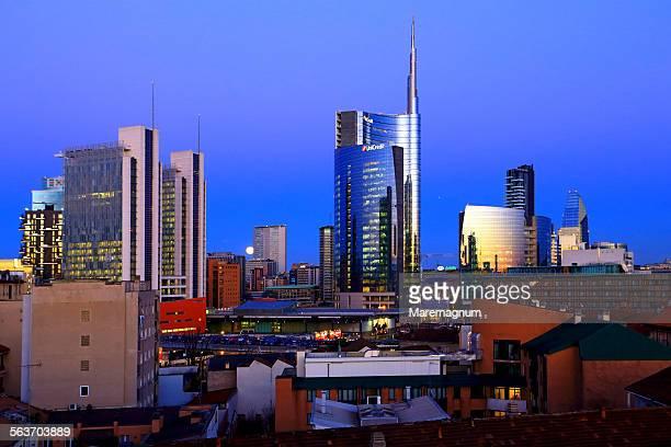 Milano new skyline view