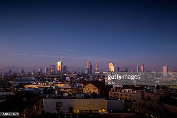 Milano Porta Nuova Skyline