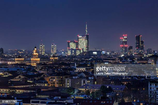 Milano Skyline by night