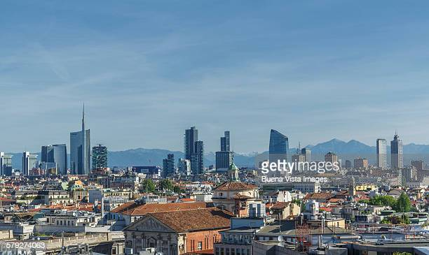 Milan?s skyline