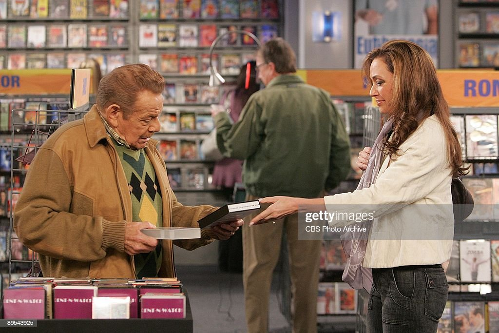 'Mild Bunch' -- Arthur (Jerry Stiller), and Carrie (Leah Remini) star on The King of Queens, Wednesday, April 23 (8:30-9:00 PM, ET/PT) on the CBS Television Network.