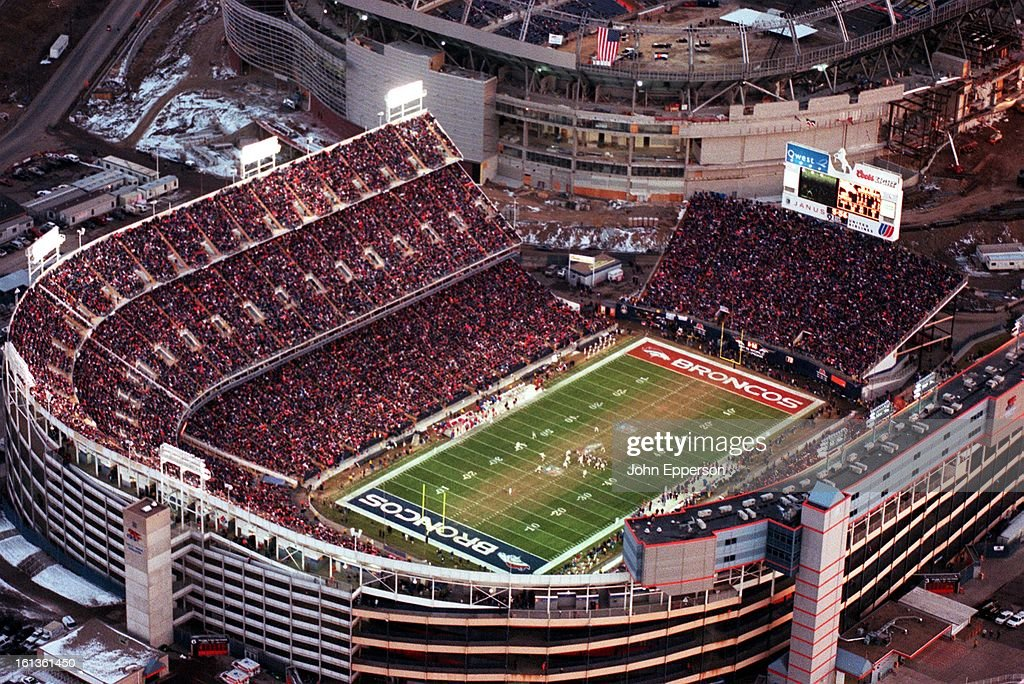 December 23, 2000 - Last game at Mile High Stadium Mile-high-stadium-filled-to-capacity-saturday-about-430-pm-as-the-picture-id161361450