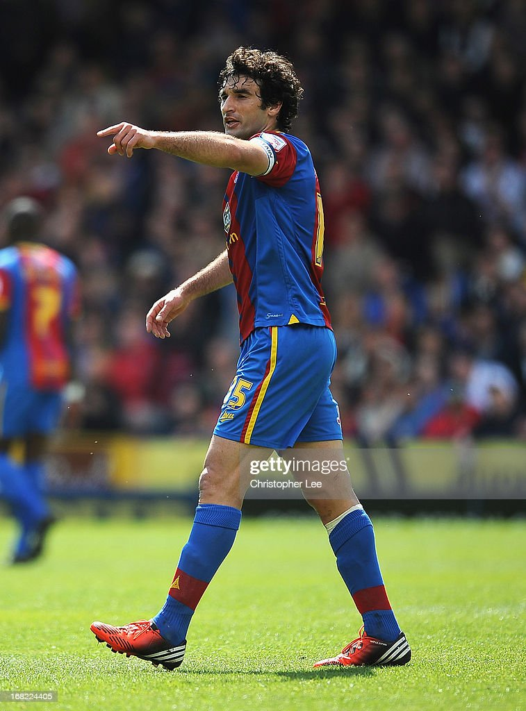 Mile Jedinak of Crystal Palace during the npower Championship match between Crystal Palace and Peterborough United at Selhurst Park on May 04, 2013 in London, England.