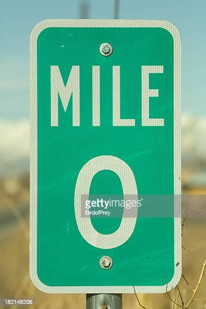 Kilomètre zéro.