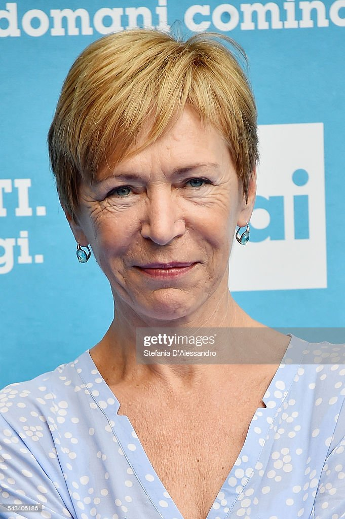 Milena Gabanelli attends Rai Show Schedule Presentation In Milan on June 28, 2016 in Milan, Italy.