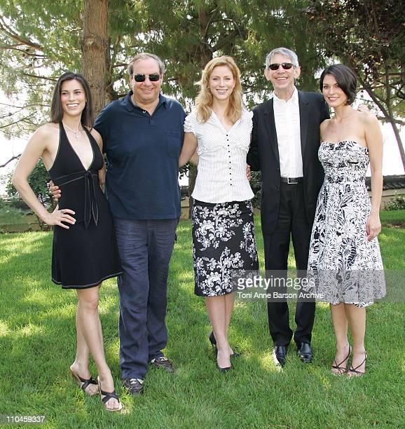 Milena Govich Dick Wolf Diane Neal Richard Belzer and Alana de la Garza