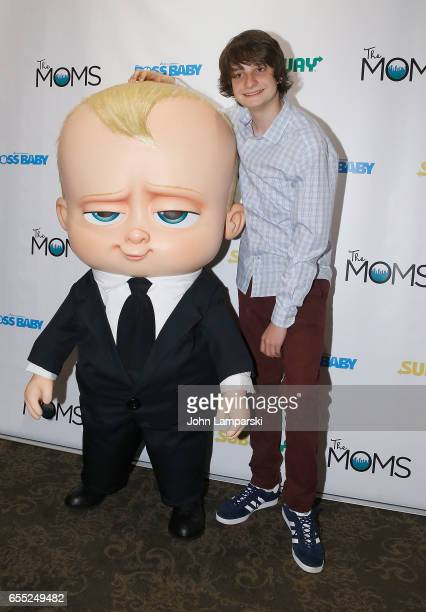 Miles Bakshi attends Mamarazzi screening Of 'The Boss Baby'at Dolby 88 Theater on March 19 2017 in New York City