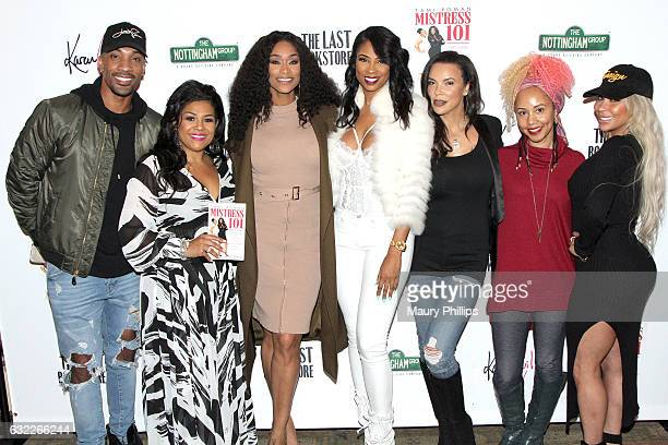 Miles Brock Wendi J Turner Tami Roman Jennifer Williams Shamicka Lawrence Jasmin Brand and Hazel E attend Tami Roman book signing for 'Mistress 101'...