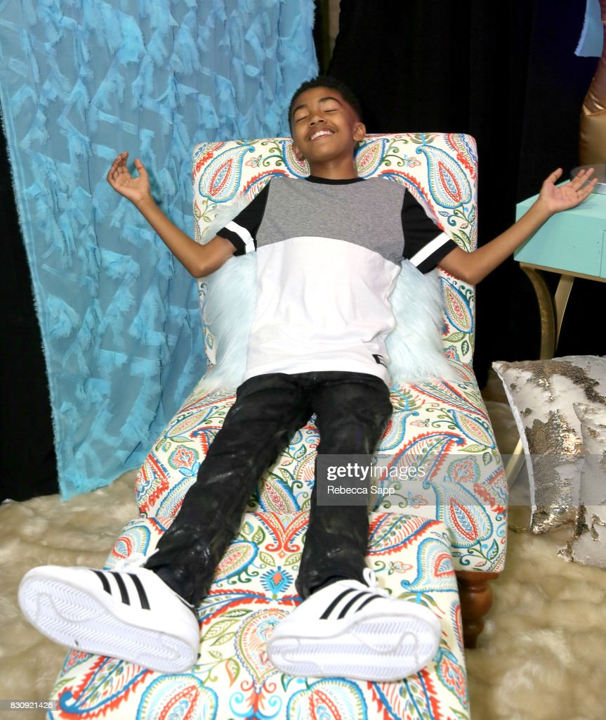 Miles Brown at Backstage Creations Celebrity Retreat at Teen Choice 2017 - Day 1 at Galen Center on August 12, 2017 in Los Angeles, California.