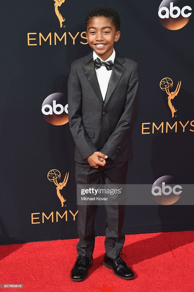 Miles Brown attends 68th Annual Primetime Emmy Awards at Microsoft Theater on September 18, 2016 in Los Angeles, California.