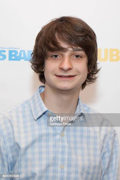 Miles Christopher Bakshi attends Mamarazzi Screening Of 'The Boss Baby' at Dolby 88 Theater on March 19 2017 in New York City