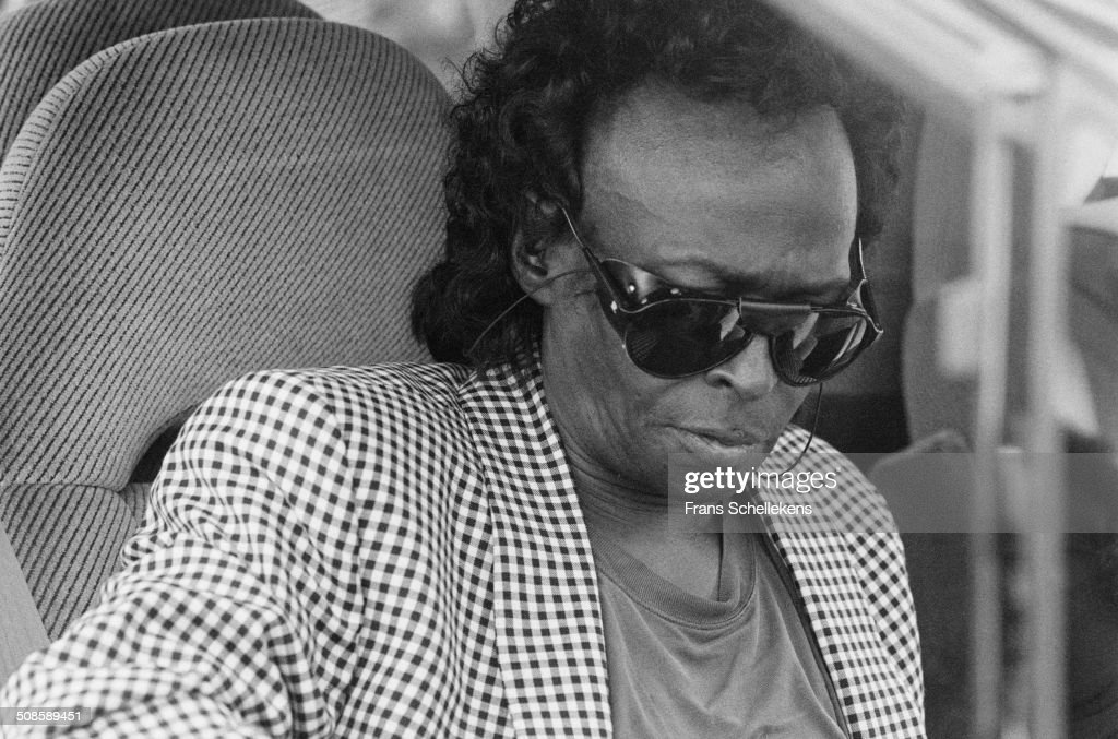 Miles Davis at the North Sea Jazz Festival in the Hague, Netherlands on 14th July 1991.