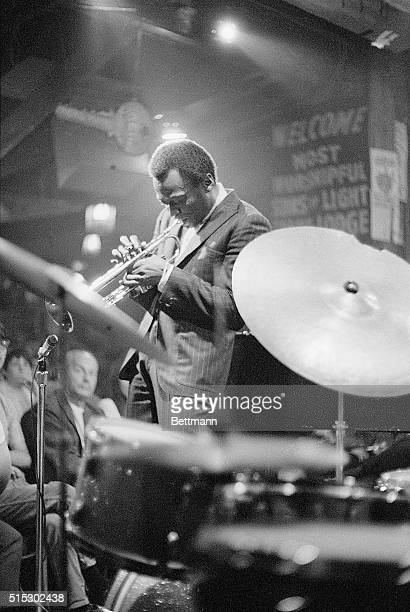 Miles Davis performing at Shelley's Manne Hole nightclub in 1968