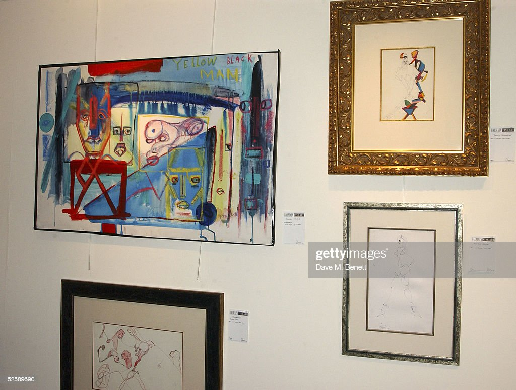 miles davis paintings and sketches exhibition in london photos and miles davis s sketches and paintings are on display during an exhibition of his artwork organized by