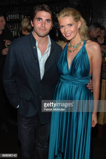 Miles Fisher and Carly Steel attend Tamsin Lonsdale's The Supper Club Los Angeles Hosts Dinner Party at LUAU in Beverley Hills at LUAU on April 22...