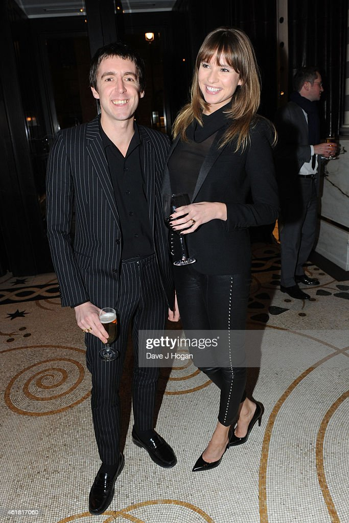 <a gi-track='captionPersonalityLinkClicked' href=/galleries/search?phrase=Miles+Kane&family=editorial&specificpeople=4860678 ng-click='$event.stopPropagation()'>Miles Kane</a> and Alice Aufray attend the after party for the UK Premiere of 'Mortdecai' at Corinthia Hotel London on January 19, 2015 in London, England.