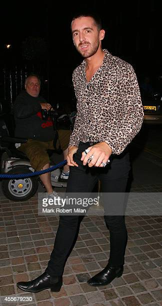 Miles Kane at the Chiltern Firehouse on September 18 2014 in London England