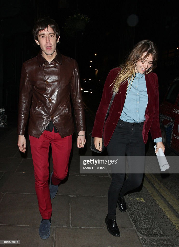 Miles Kane sighting in Soho on April 15, 2013 in London, England.