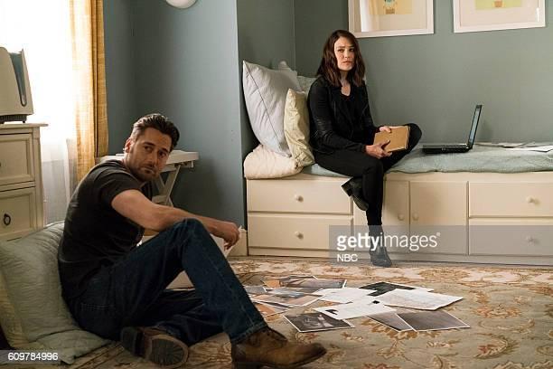 THE BLACKLIST 'Miles McGrath' Episode 403 Pictured Ryan Eggold as Tom Keen Megan Boone as Elizabeth Keen