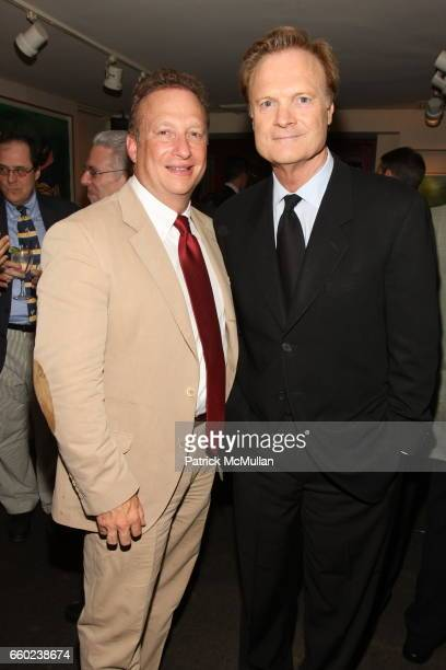 Miles Nadal and Lawrence O'Donnell attend Book Launch for Chris Anderson's 'Free The Future of a Radical Price' at Michael's Restaurant on July 7...