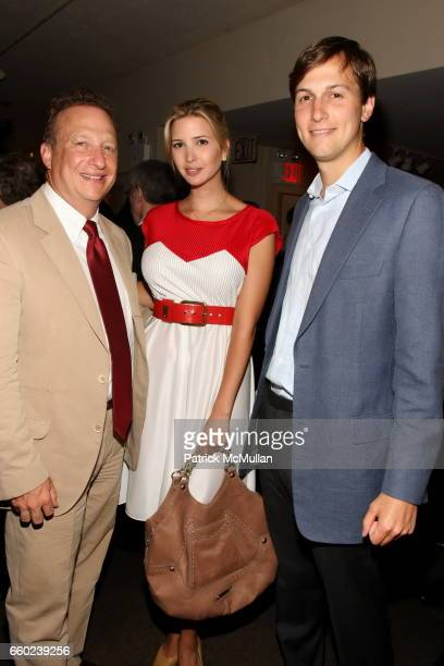 Miles Nadal Ivanka Trump and Jared Kushner attend Book Launch for Chris Anderson's 'Free The Future of a Radical Price' at Michael's Restaurant on...