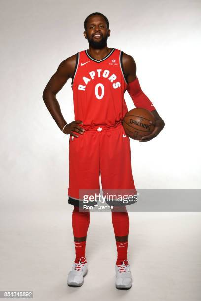 Miles of the Toronto Raptors poses for a portrait during Media Day on September 25 2017 at the BioSteel Centre in Toronto Ontario Canada NOTE TO USER...